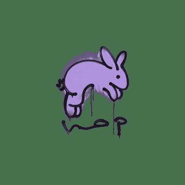 Sealed Graffiti | Hop (Violent Violet)