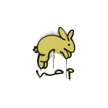 Sealed Graffiti | Hop (Tracer Yellow)