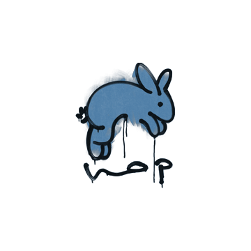 Sealed Graffiti | Hop (Monarch Blue)