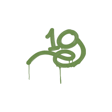 Sealed Graffiti | 1G (Battle Green)