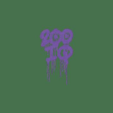 Sealed Graffiti | 200 IQ (Monster Purple)